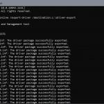 Cómo exportar controladores de Windows usando DISM